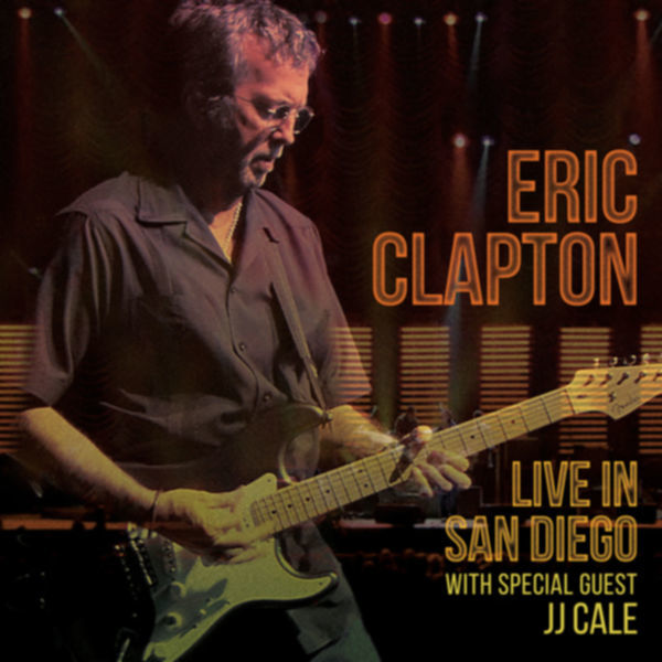 eric clapton live in san diego cover