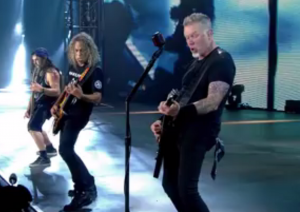 metallica hardwired live debut 2