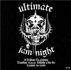 motörhead lemmy ultimate jam night