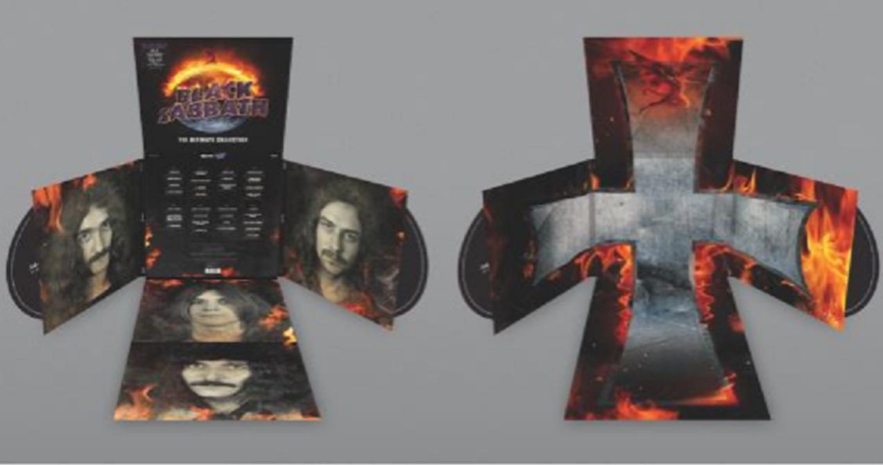 Black Sabbath The Ultimate Collection Erscheint Im