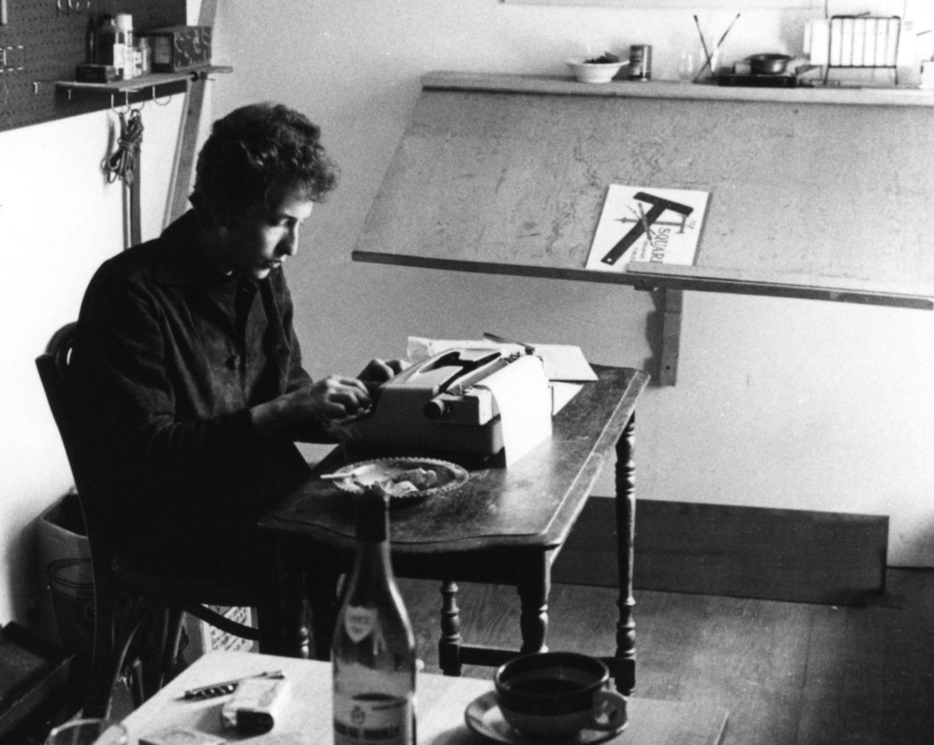 bob dylan writing