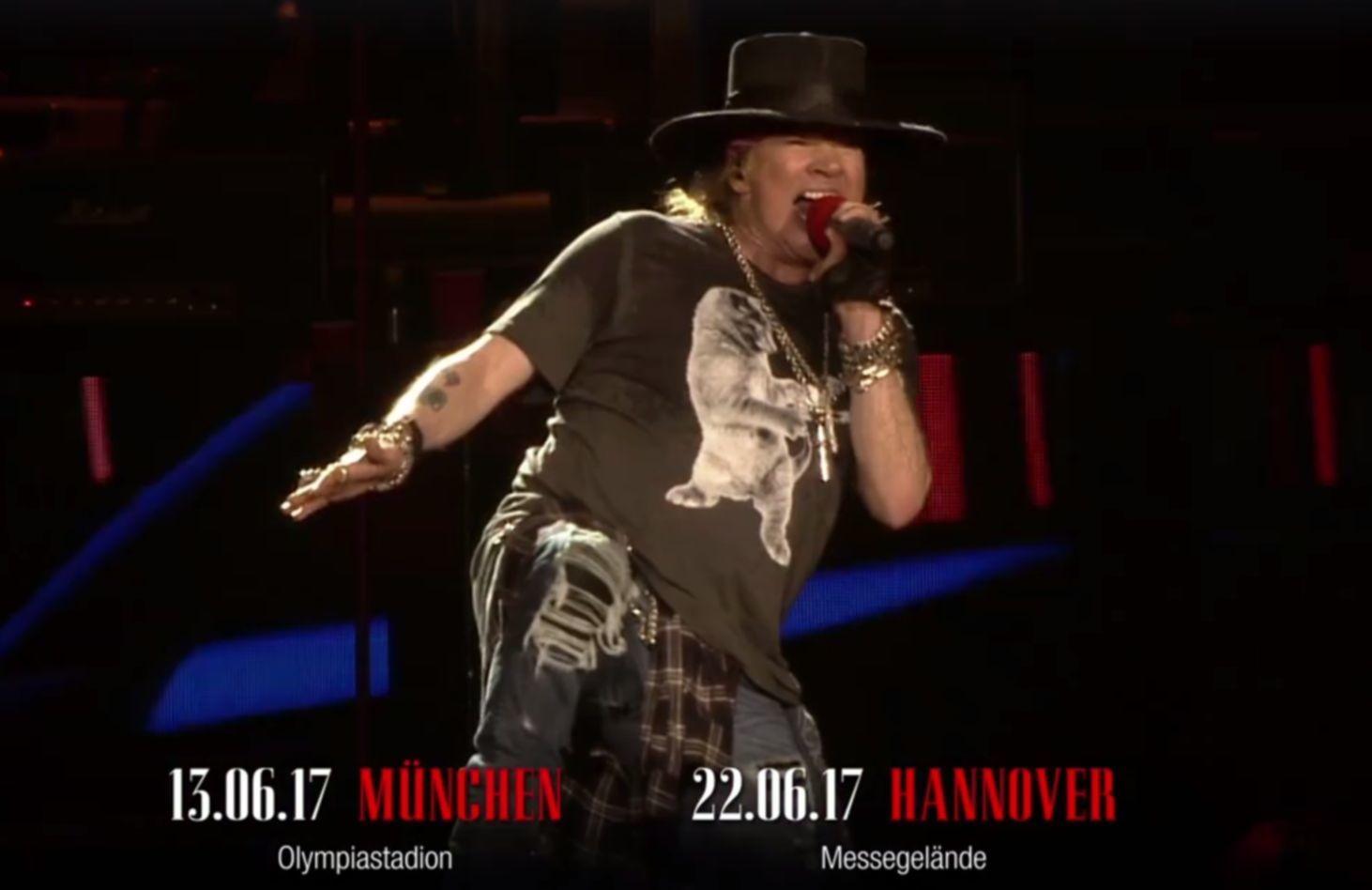 Guns N Roses Jetzt Noch Tickets Sichern Classic Rock Magazin