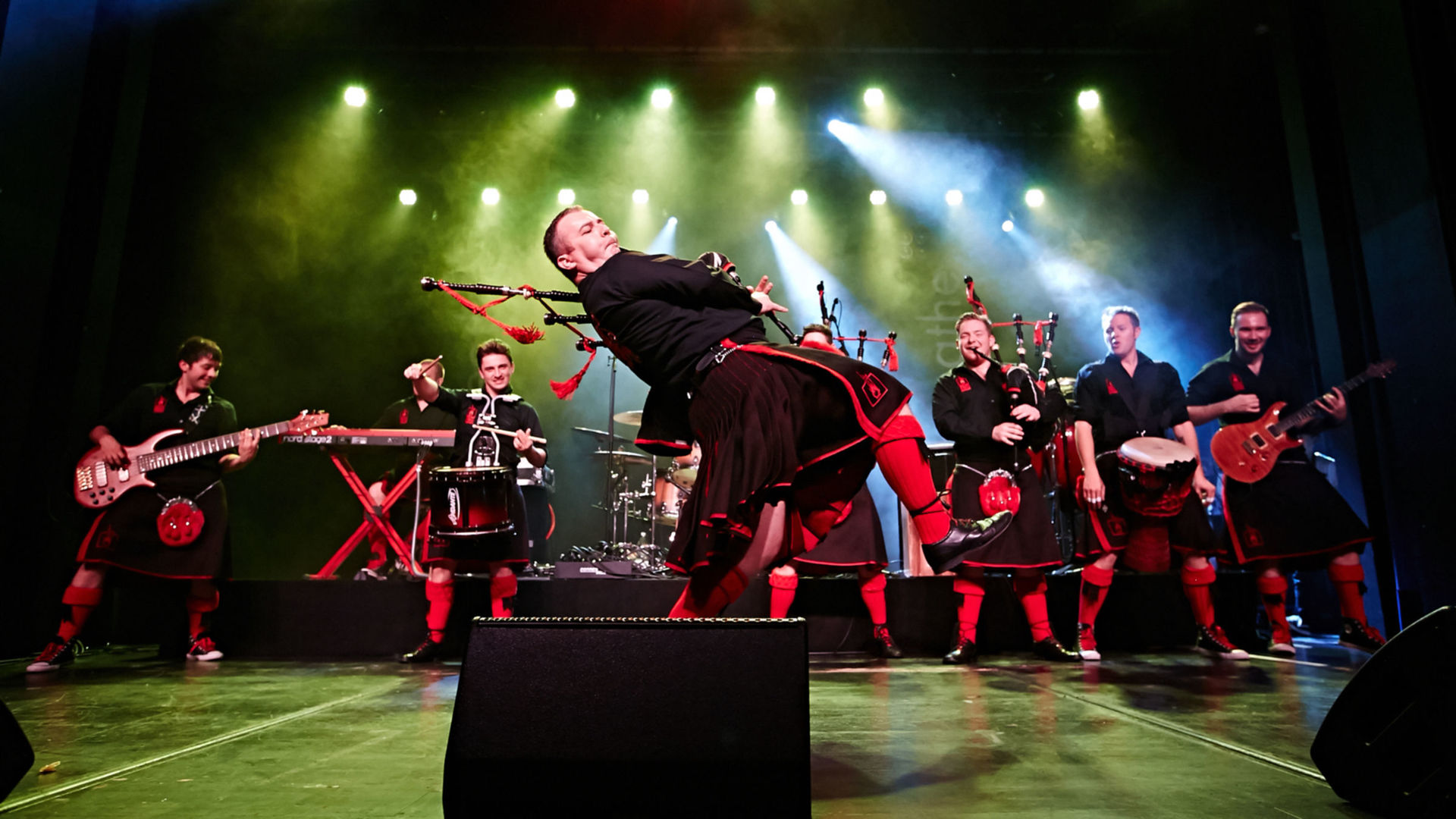 The Red Hot Chilli Pipers Tour