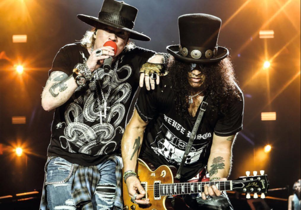 Guns And Roses  Tour Line Up