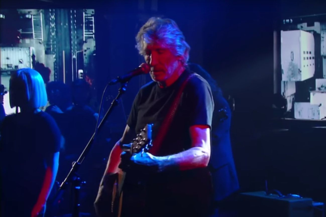 roger waters colbert