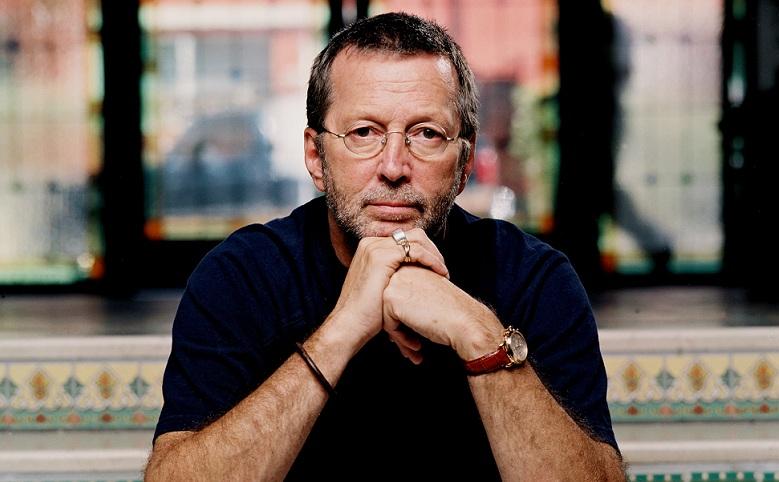 Eric Clapton mit Uhr