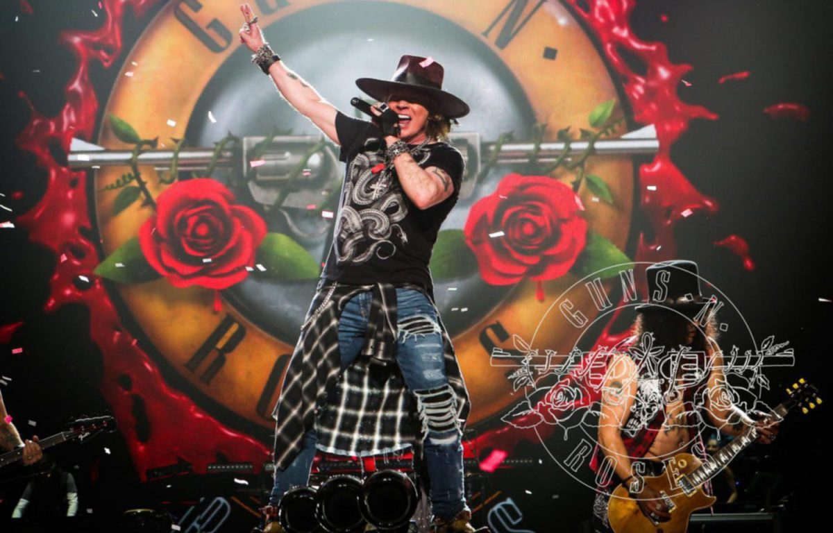 Guns N Roses Tour  London