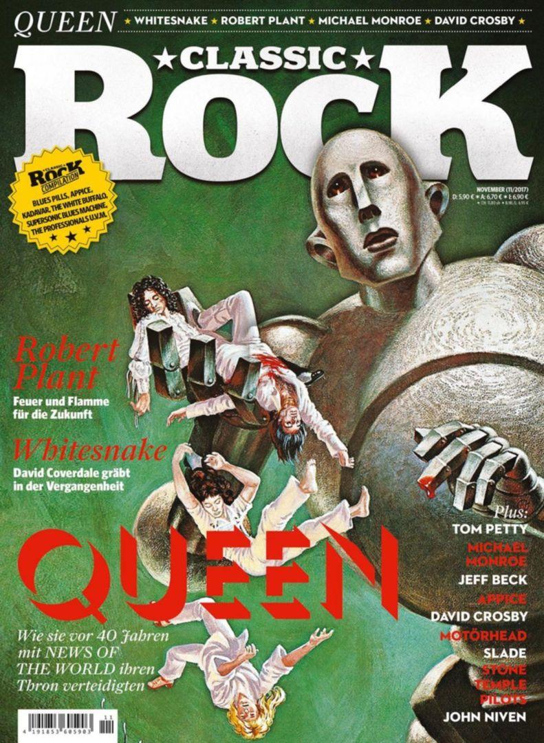 Classic Rock Magazin Queen