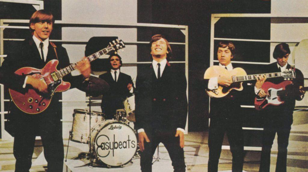 Die Easybeats um den verstorbenen George Young.