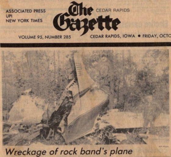 Lynyrd Skynyrd Flugzeugwrack