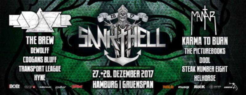 Beim Sankt Hell Festival 2017 erwartet den Zuhörer ein abwechslungsreiches Line Up mit Kadavar, Mantar, The Brew & Co.