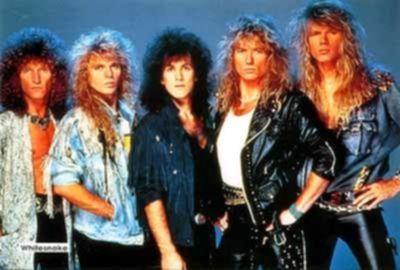 Whitesnake im Jahr 1987