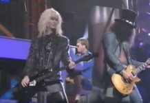 Guns N' Roses live bei den MTV Music Awards 1992