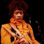Jimi Hendrix live.