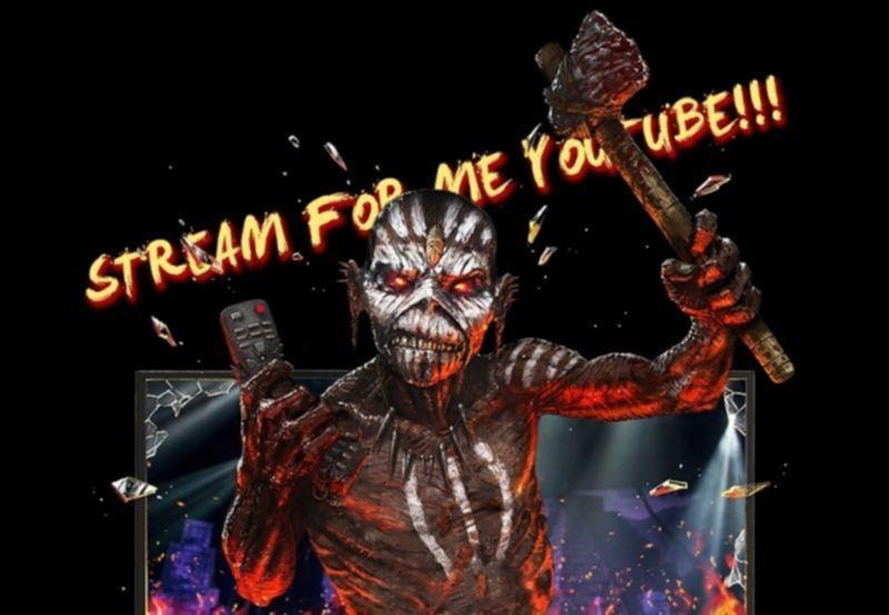 Iron Maiden streamen ihren Konzertfilm The Book Of Souls Live Chapter einmalig und kostenlos auf Youtube.