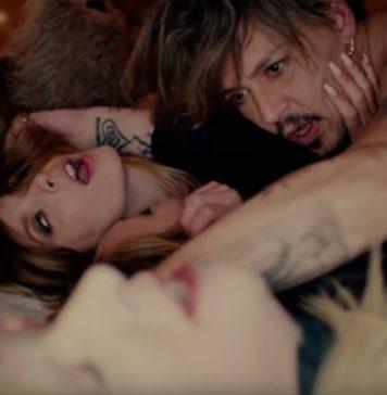 Johnny Depp spielt im neuen Video von Marilyn Manson mit.