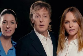 """Paul McCartney ruft in der Kampagne """"One Day A Week"""" zusammen mit seinen Töchtern zu reduziertem Fleischkonsum auf."""