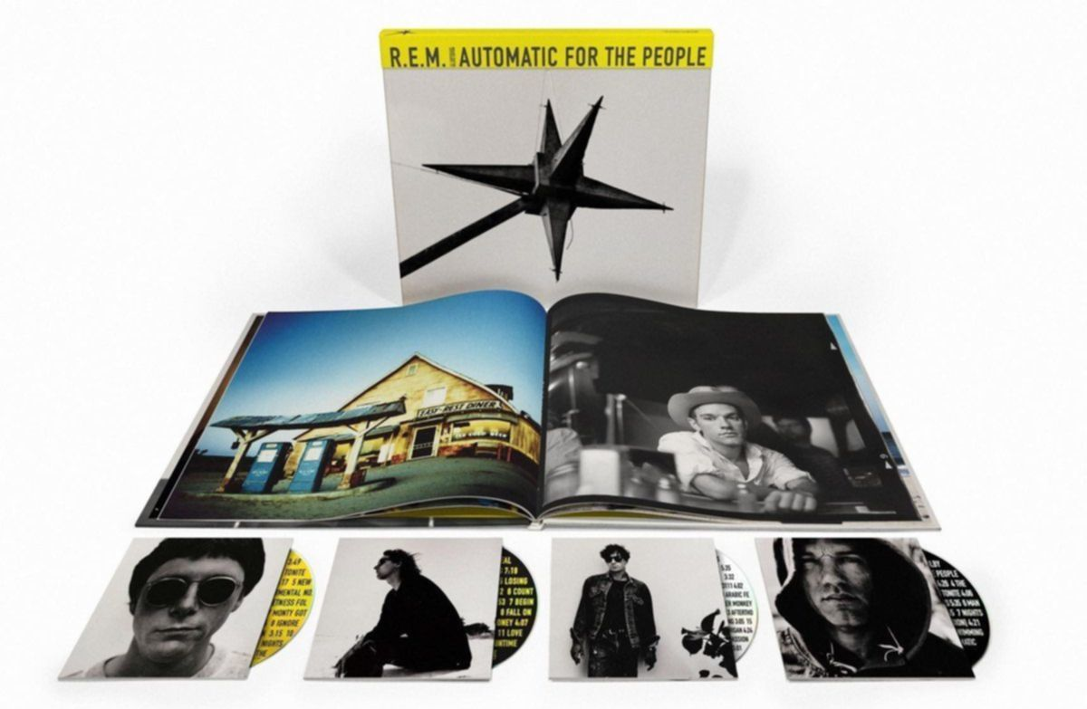 R.E.M. Automatic For The People 25th Anniversary Edition