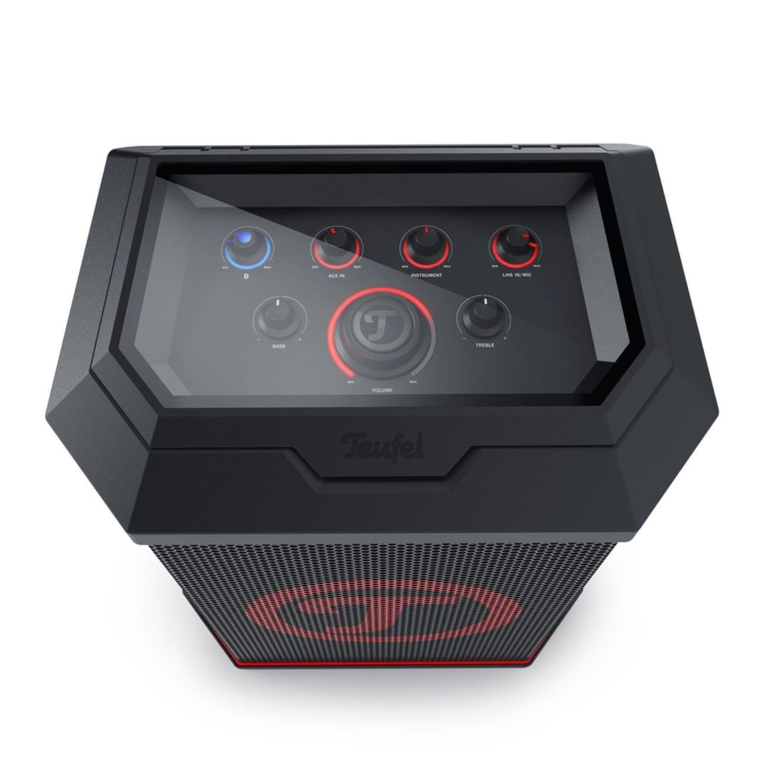 gewinnspiel hier die rockster air box von teufel sichern. Black Bedroom Furniture Sets. Home Design Ideas