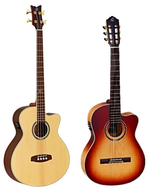 Jahresverlosung Ortega Bass und Gitarre
