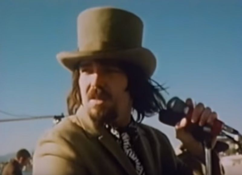Captain Beefheart live am Strand von Cannes.