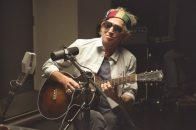Keith Richards im Studio