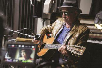 Keith Richards bei den Aufnahmen zu Crosseyed Heart