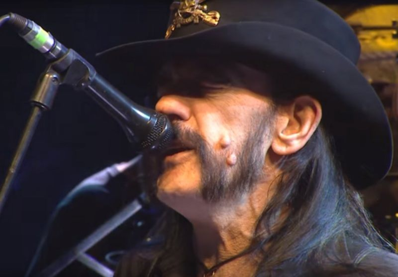 Motörhead mit 'Ace Of Spades' in München 2015.