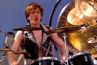 Dave Holland von Judas Priest live 1983