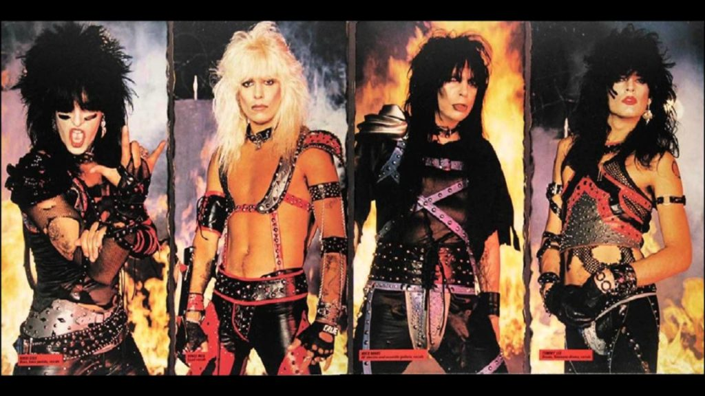 Mötley Crüe - Shout At The Devil Innenseite Klappcover