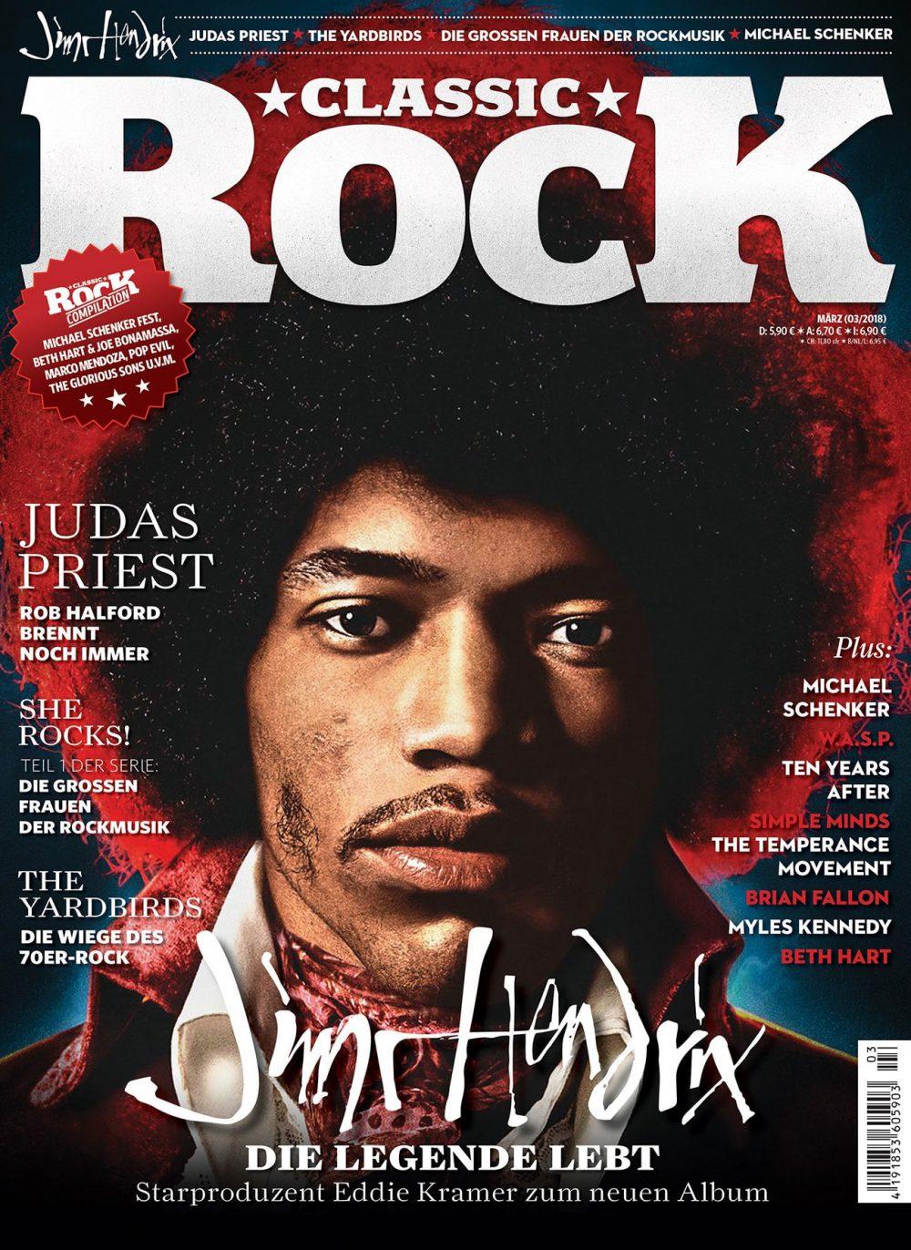 Classic Rock Magazin Ausgabe 68