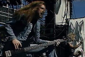 etallica live 1985 mit Cliff Burton