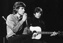 Rolling Stones Mick Jagger und Keith Richards