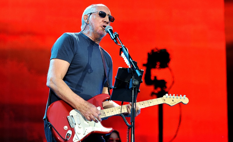 Pete Townshend von The Who live