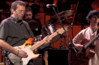Eric Clapton Paul McCartney While My Guitar Gently Weeps