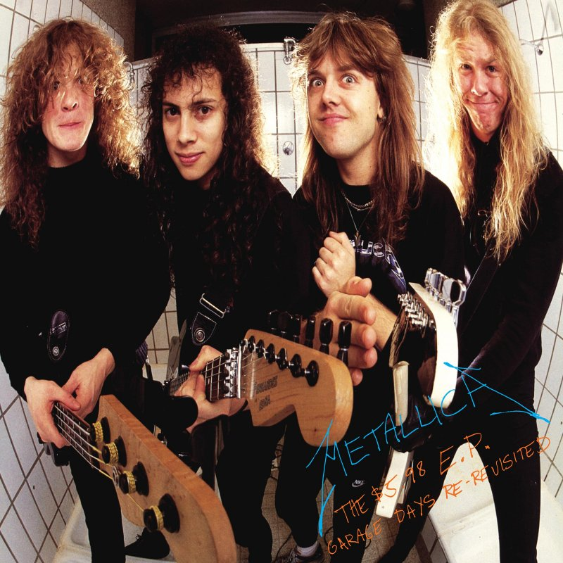 Metallica 598 EP Garage Days