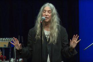 Patti Smith live 2018