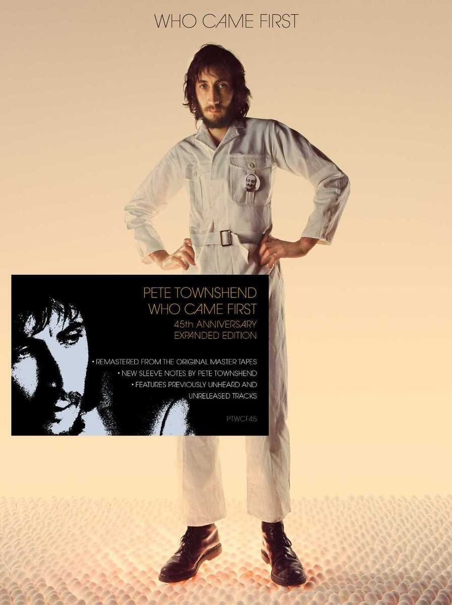 Pete Townshend Who Came First