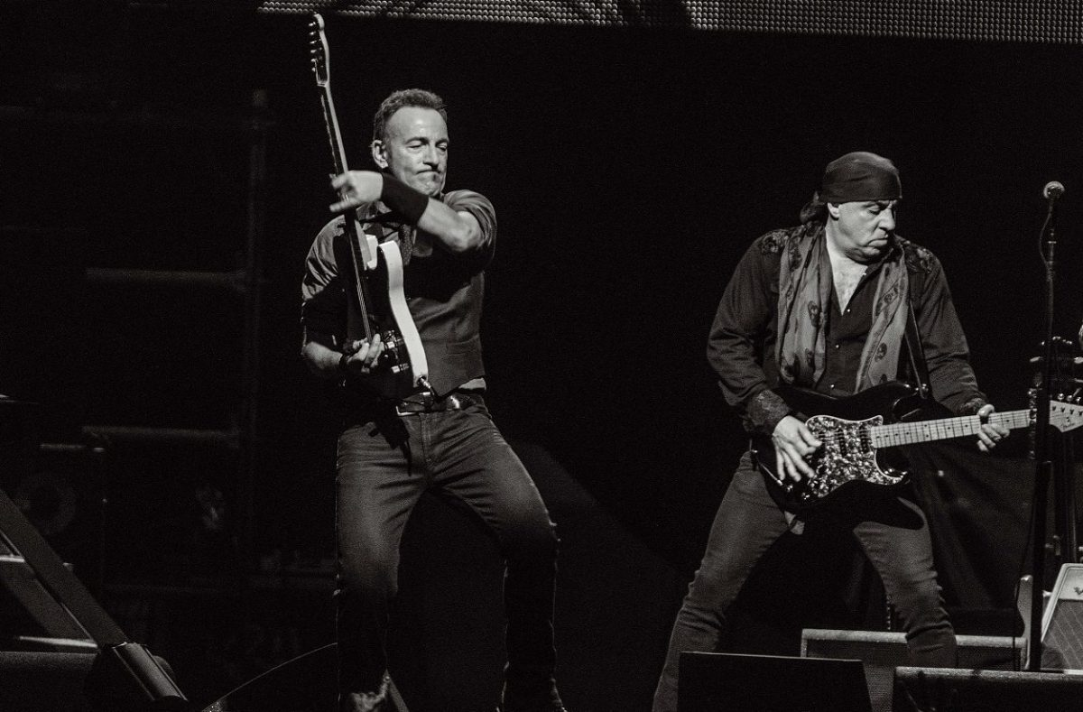 Bruce Springsteen Steven Van Zandt Hall Of Fame