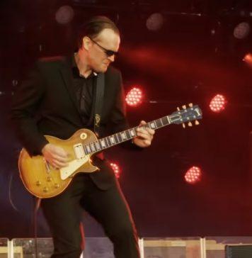 Joe Bonamassa live Gitarre