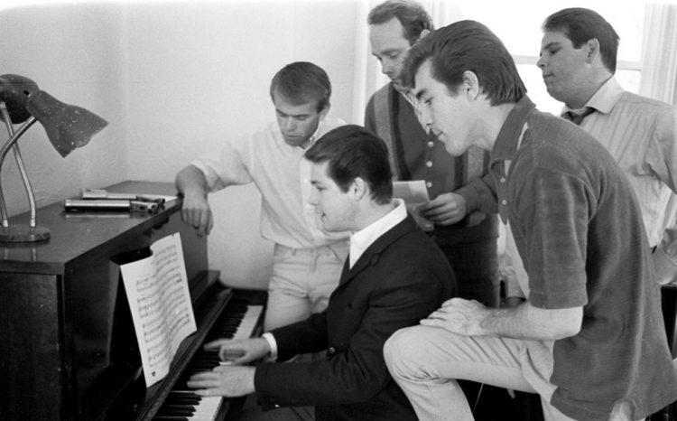 Die Beach Boys mit Brian Wilson