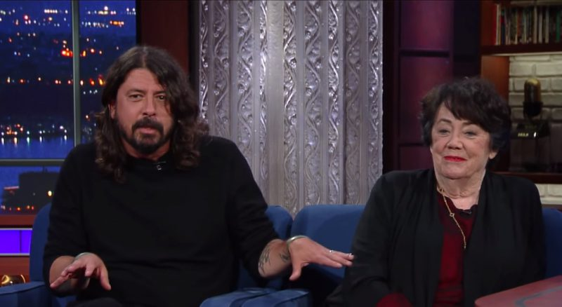 Dave Grohl TV Show Virginia Grohl