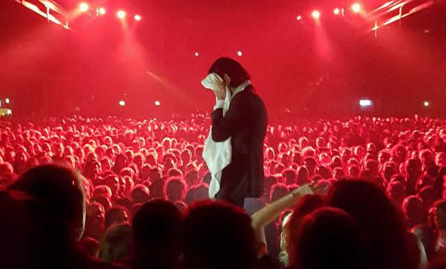 Nick Cave Bad Seeds live in Copenhagen