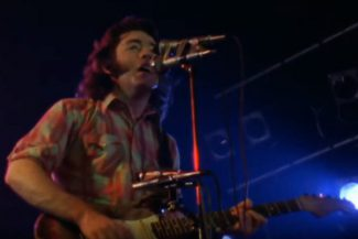 Rory Gallagher live mit Tattoo'd Lady