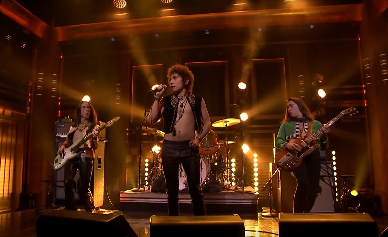 Greta Van Fleet Live Jimmy Fallon