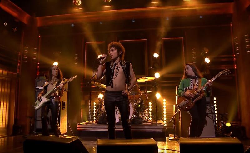 Greta Van Fleet Live Jimmy Fallon