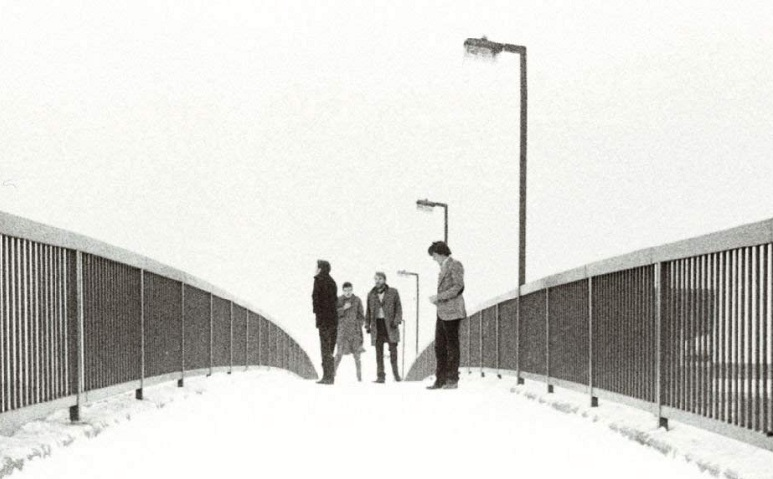 Joy Division mit Ian Curtis