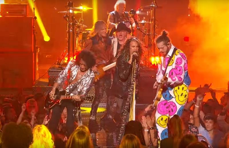Aerosmith feat. Post Malone bei den VMAs 2018