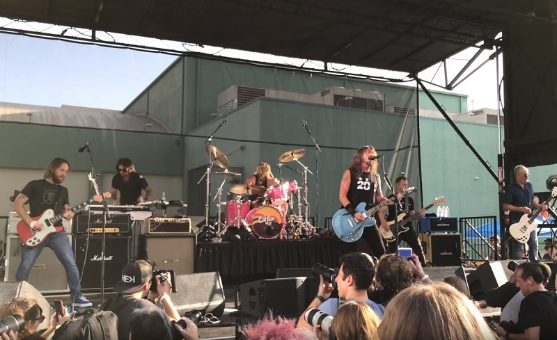 Foo Fighters PopUp-Show in Los Angeles