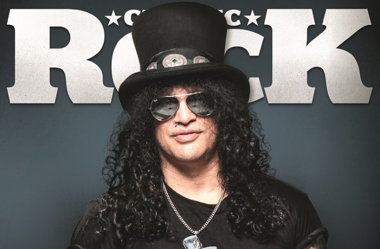 CLASSIC ROCK Ausgabe 74 Slash